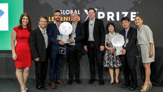 Global Learning XPRIZE Award Ceremony