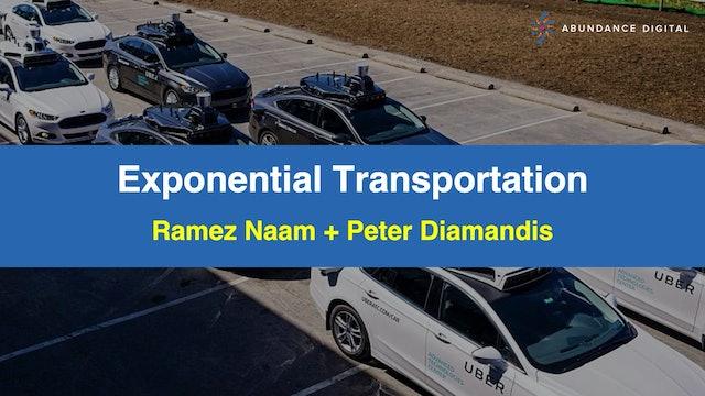 Exponential Transportation