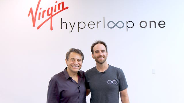 Josh Geigel + Virgin Hyperloop One