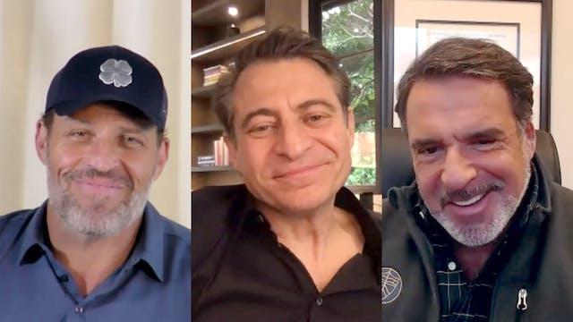 Tony Robbins and Bob Hariri on COVID-19