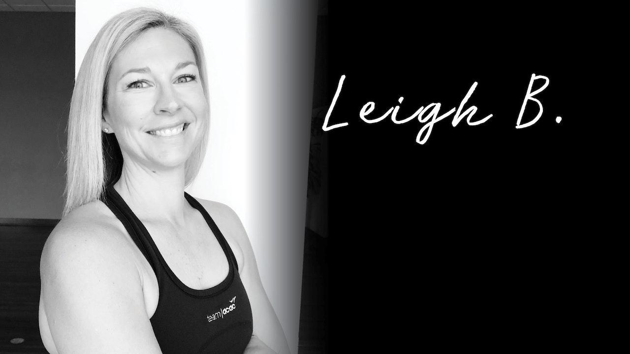 Instructor Highlight: Leigh B.