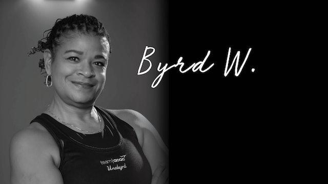 11:45am Yoga Stretch 15 with Byrd W