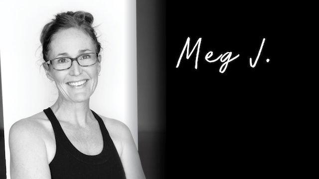 Vinyasa Yoga 45 with Meg J - August 31, 2021