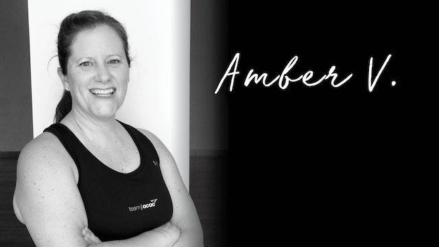 11:30am Cardio Lite 45 with Amber V