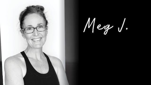 Vinyasa Yoga 45 with Meg J - March 9,...