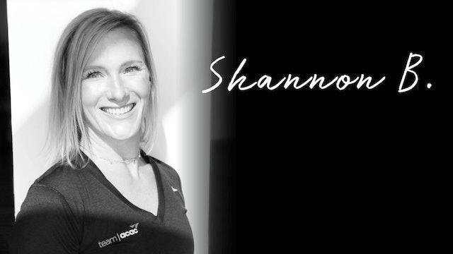 Instructor Highlight: Shannon B.
