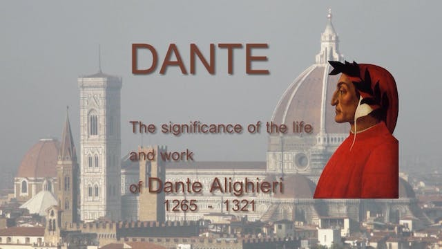 Dante - the First Renaissance Man
