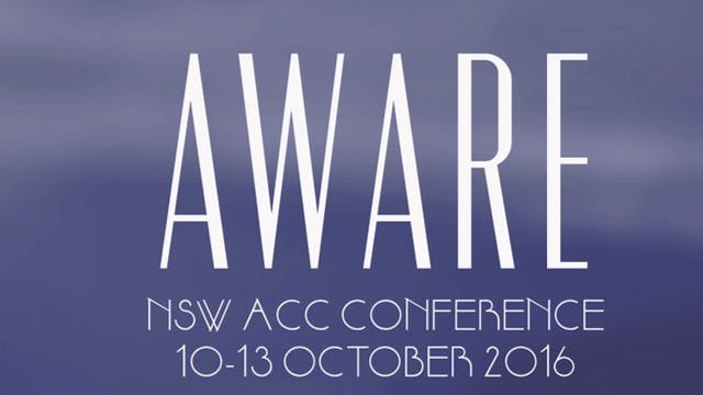 NSW ACC Conference 2016