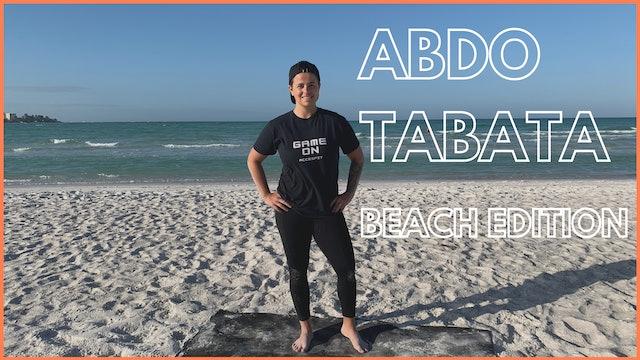 TABATA ABDO - BEACH EDITION  /  CHALLENGE JOUR 8