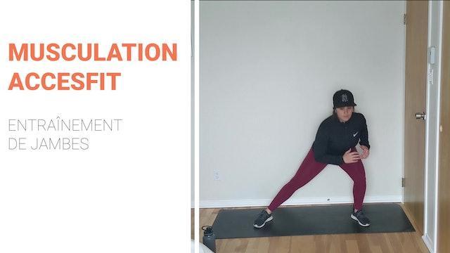 MUSCULATION - JAMBES  /  CHALLENGE JOUR 15