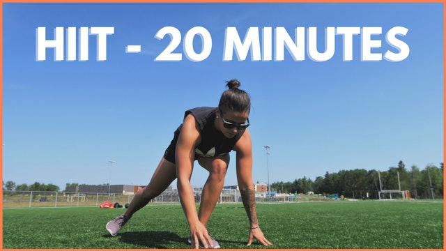 HIIT - 20 MINUTES