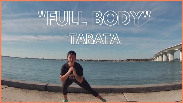 TABATA - FULL BODY  /  CHALLENGE JOUR 13