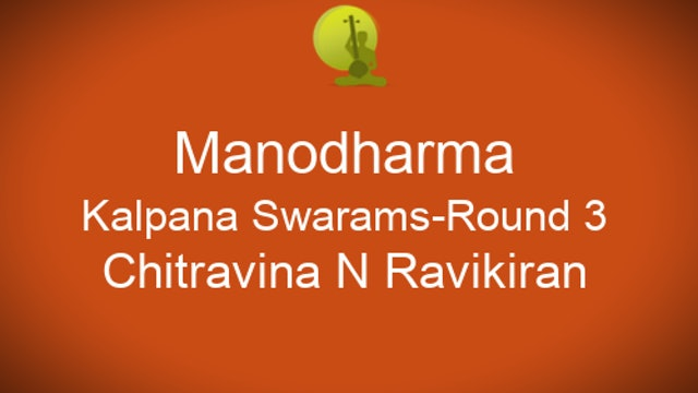 Part 3 - Kalpana Swarams - Short Rounds - Zoom Session