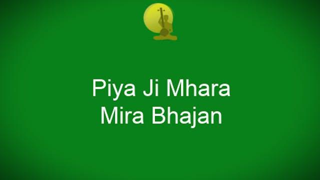 Piya Ji Mhara - Sant Tukaram - Bhajan