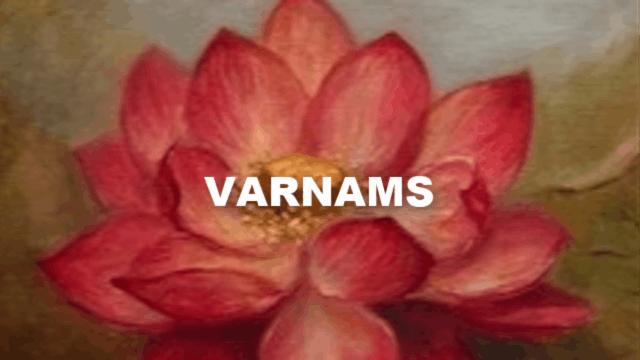 Varnams
