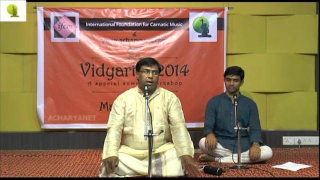 Shree Ganeshvara – Shanmukhapriya – Oothukkadu Venkata Kavi