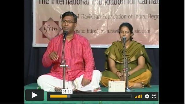 Shiva neriye - Nagaswaravali - Geetam
