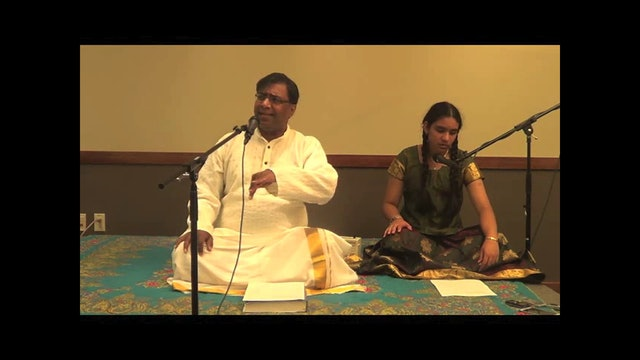 Bhajare raghuveeram – Kalyani – Thyagaraja