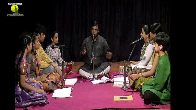Viriboni - Bhairavi Ata Tala Varnam - Part 2