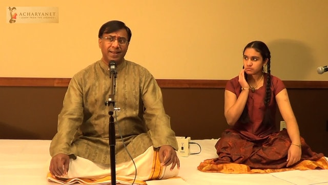 Shree Ranganatham – Poornachandrika – Muthuswamy Dikshitar