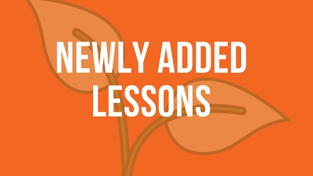 Newly Added Lessons