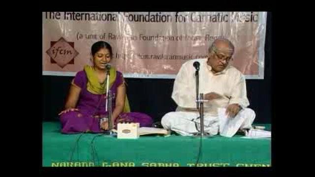 BBharati – Devamanohari – Muthuswamy Dikshitar