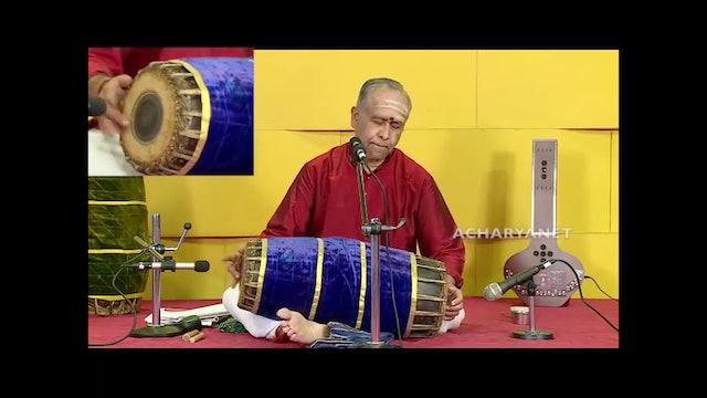 Mridangam Lesson - Introduction by Sangita Kalanidhi Prof Trichy Sankaran