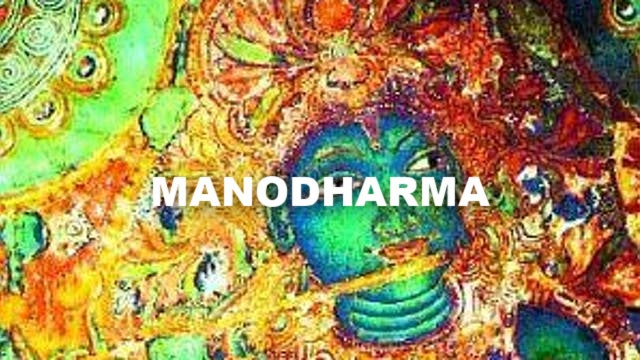 Manodharma