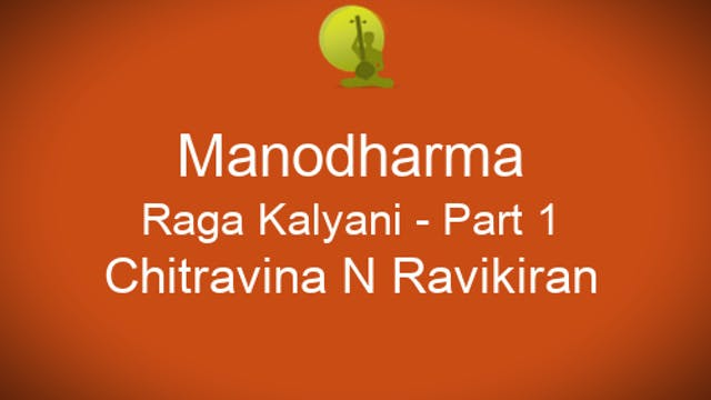 Alapana Kalyani - Part 1 - Zoom Session