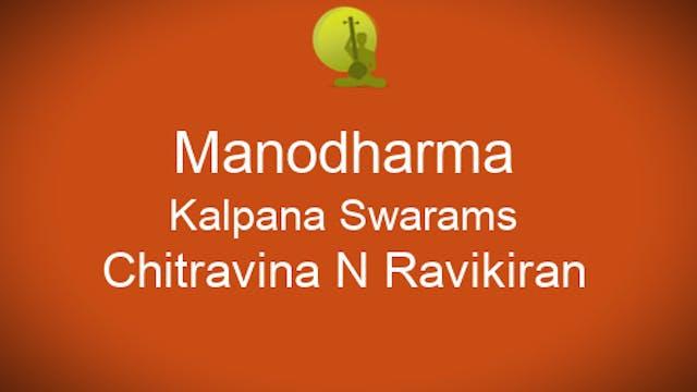Voice techniques in Kalpana Swaram - ...