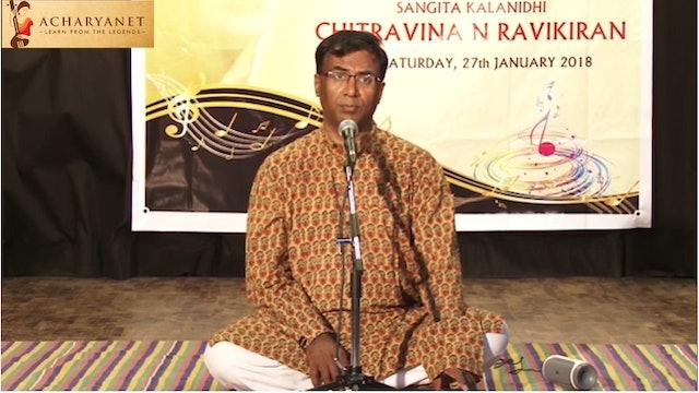 Samaganave Salade - Chandrajyothi - Chitravina N Ravikiran