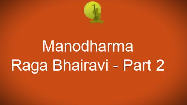 Alapana Raga Bhairavi - Part 2 - Zoom...