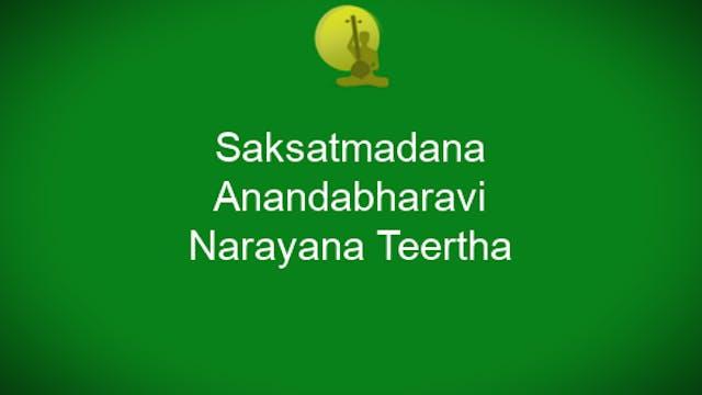 Sakshat madana - Anandabhairavi - Nar...