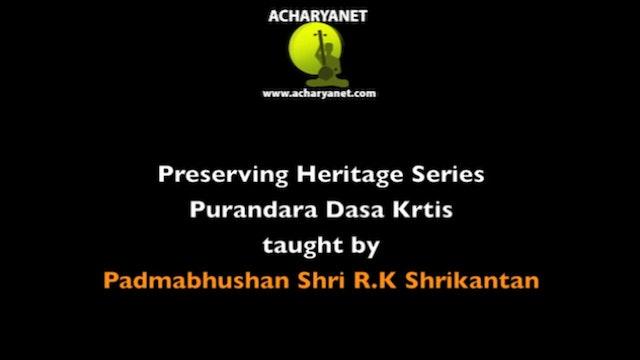 Palisemma – Mukhari – Purandaradasa
