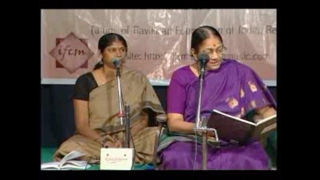 Maruva neeku – Purvikalyani – Pallavi...