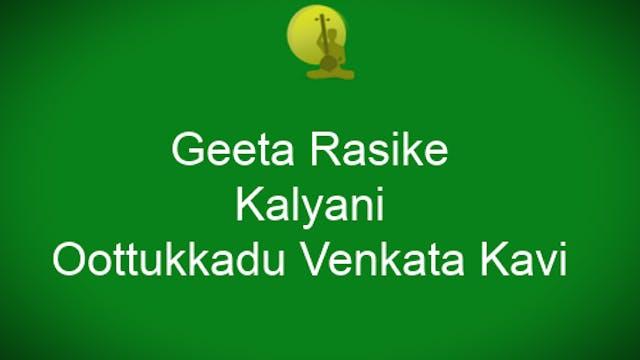 Geeta rasike – Kalyani – Oottukkadu V...