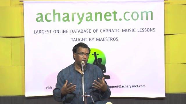Raga Alapana Techniques - Part 2
