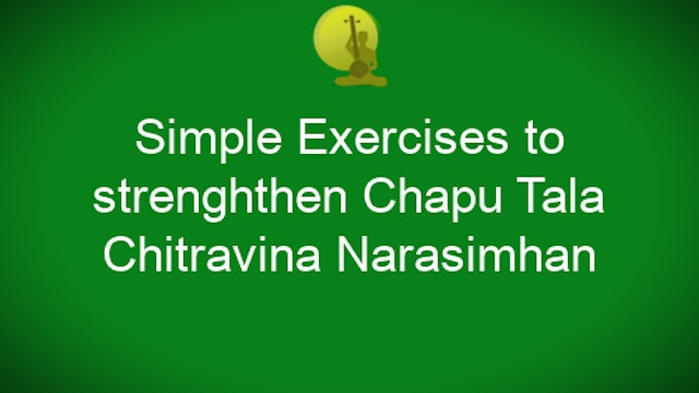 Simple Exercise to Strengthen Chapu Tala