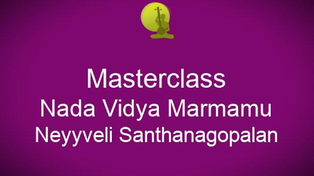 Nada Vidya Marmamu - Neyyveli Santhanagopalan