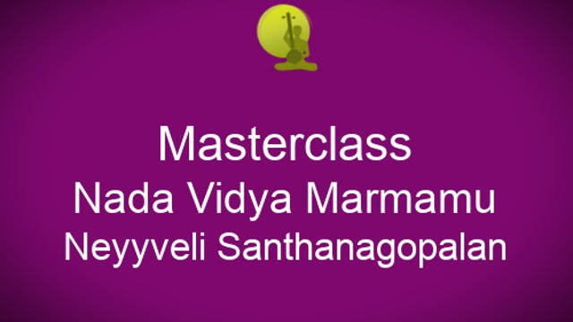 Nada Vidya Marmamu - Neyyveli Santhan...