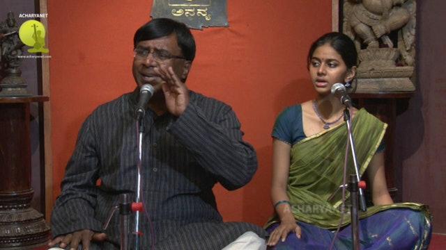 Madhava hrdi khelini – Kalyani – Oothukkadu Venkata Kavi - Part 2
