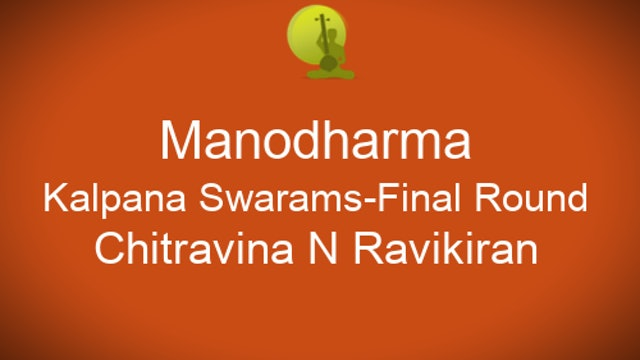 Part 4 - Kalpana Swarams - Final Rounds - Zoom Session