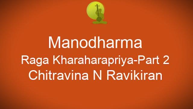 Model Alapana Kharaharapriya - Part 2