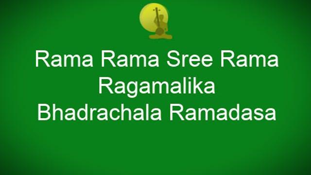 Rama rama shreerama - Ragamalika - Bh...