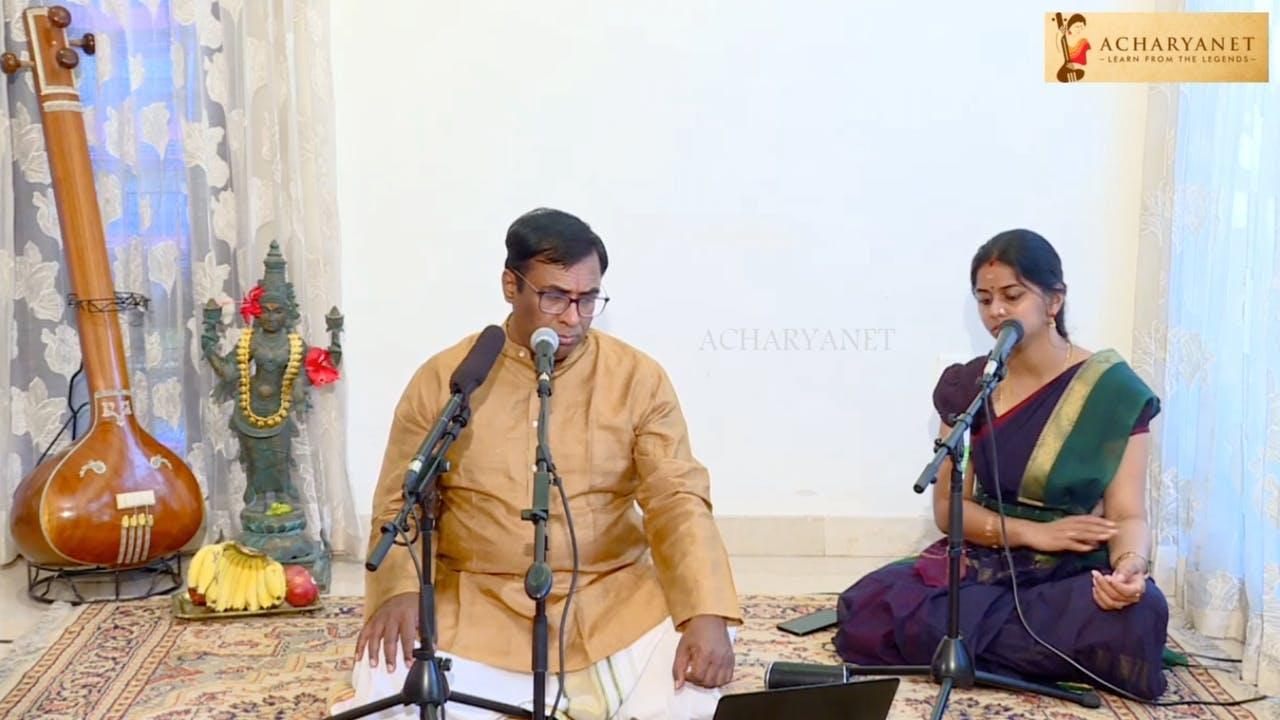 Pre-Trinity Compositions by Chitravina Ravikiran