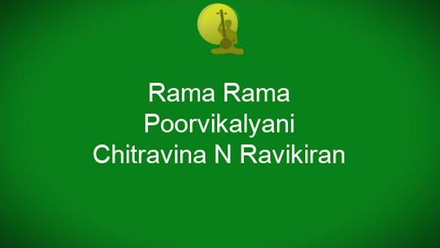 Rama Rama - Poorvi Kalyani - Chitravi...