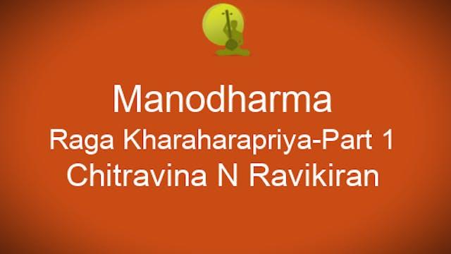 Alapana - Kharaharapriya Part 1 - Zoo...