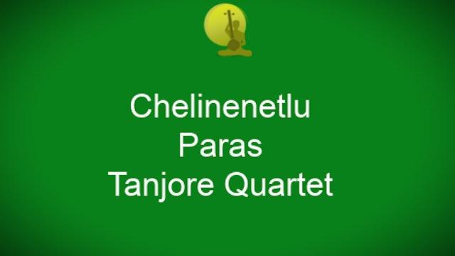 Chelinenetlu – Paras  Javali – Tanjore Quartet