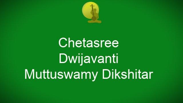 Chetashree-Dwijayavanti-Muttuswamy Dikshitar