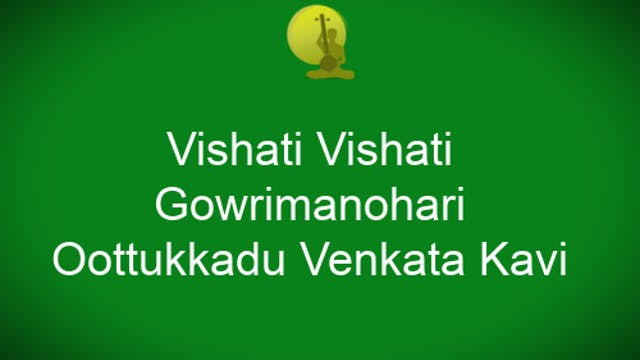 Vishati vishati -Gowrimanohari – OVK